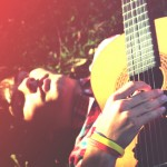 Teen portrait with guitar (2)